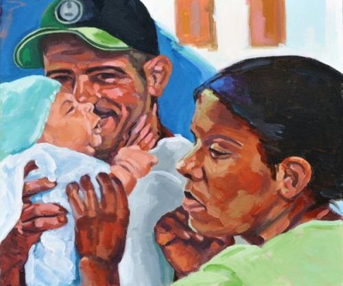 Familie aus Baracoa