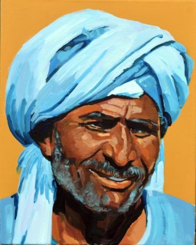 Der blaue Turban