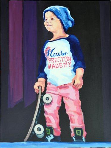 Die kleine Skaterin