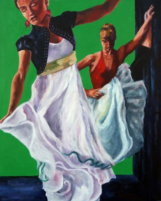 Zwei Tänzerinnen